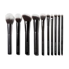 pro deluxe makeup brush collection