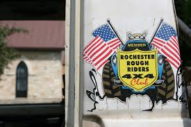 Car Show 83 Rochester Rough Riders Decal Minnesota Prairie Roots