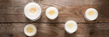 make recycled candles for candlemas day