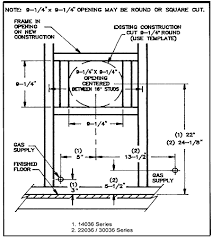 williams direct vent gas heater information