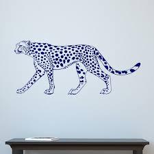 Leopard Big Cat Wall Sticker Decal World Of Wall Stickers