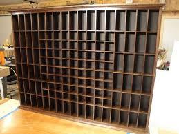 custom shot glass display rack by