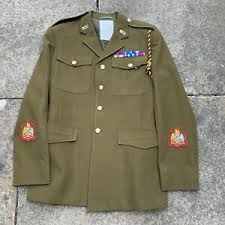 royal logistic corps wo1 khaki