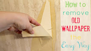 how to remove old wallpaper from wall
