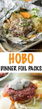 hobo dinner foil packets hamburger
