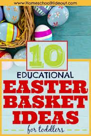 10 educational easter basket ideas for