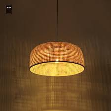 lampshade hat large pendant light