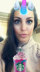 """Perri Konecky on Twitter: """"Even the Snap filter for this  #unicornfrappuccino is adorable 🦄… """""""