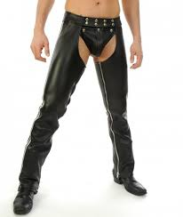 leather chaps for show off your