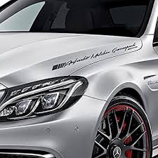 Amg Front Rear Windshield Decal Vinyl Car Stickers For Mercedes Benz Auto Window Klimmodontologia Com Br