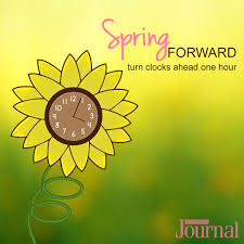 clocks change for Daylight Saving Time ...