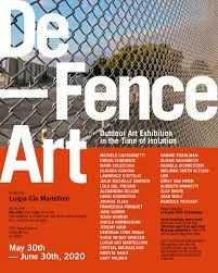18th Street Arts Center On Twitter De Fence Art Art In The Time Of Isolation Is An Outdoor Art Exhibition Organized And Curated By Luigia Gio Martelloni The Exhibition Is Now Onview The