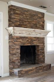 fireplace update create a mantle that