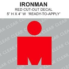 Ironman M Vinyl Sticker Decal Triathlon Tri 70 3 140 6 M Logo 4 50 Picclick
