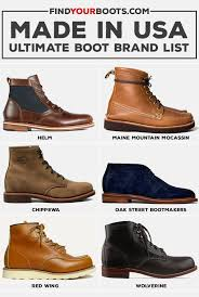 60 american made boots ultimate