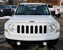 Jis Decals Generic Jeep Patriot Windshield Decal White 36 Inch Wantitall