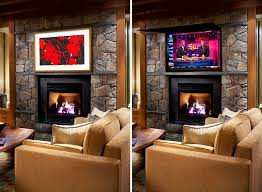 tv cover ups frame tv mirror art