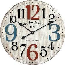 paris wall clock wall clock wooden clock