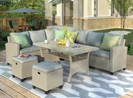 2020 patio furniture set outdoor