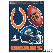 Nfl Chicago Bears Window Decals Discontinued