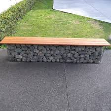 Gabion Bench Seating Quick Delivery Wire Fence