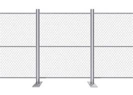 11 5 Ga 0 11 Us Standard Galvanized Black Chain Link Fence