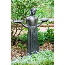 savannah s bird girl 24 inch statue