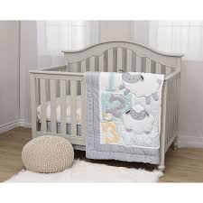 little lamb 4 piece crib bedding set