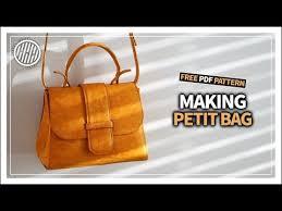 leather craft making petit bag free
