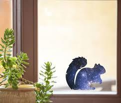 The Decal Store Com By Yadda Yadda Design Co Clr Wnd Cosmic Squirrel Galaxy Spirit Animal See Through Vinyl W