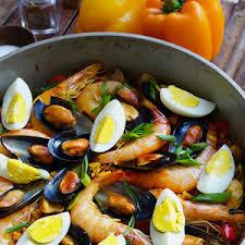 paella filipino style from