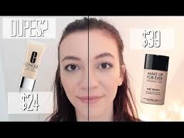 makeup forever mat velvet vs clinique