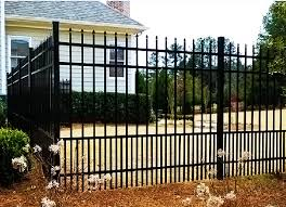 Frisco Wrought Iron Fence Companies A Better Fence Company Metal