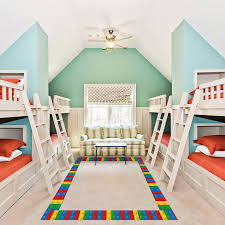 Best Discount 8694f Self Adhesive 3d Wallpaper Border Children S Building Blocks Decorative Wall Sticker Border Children S Classroom Bedroom Wall Cicig Co