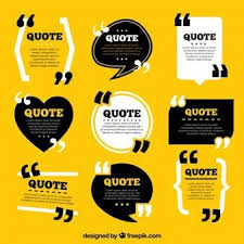 quote template collection quote template design quotes vintage