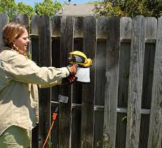 How To Finish And Paint Fences And Gates Better Homes Gardens