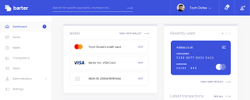 visa credit card from getbarter co