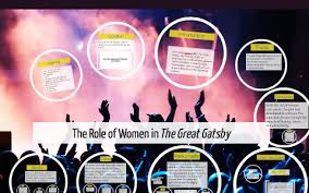 The Role of Women in The Great Gatsby by Arusha Chaudhry