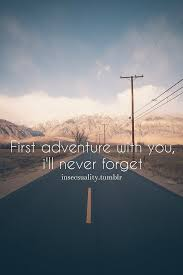 hd quote country road mountain adventure first