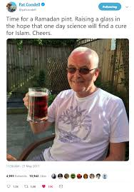 Pat Condell wishes you a happy Ramadan : IslamUnveiled