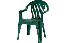 stacking garden chair green 6508049
