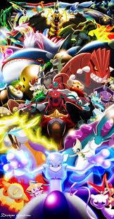 every legendary pokemon wallpapers