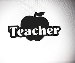 Teacher Decal Apple Decal Viny Sticker Teacher S Apple Etsy