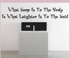 What Soap Is Vinyl Wall Decal Bathroomquotes02 Contemporary Wall Decals By Vinyl Disorder Inc