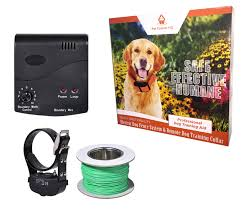 Waterproof Rechargeable Deluxe Electric Dog Fence System 1 Collar