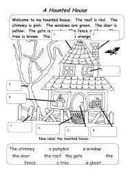 The Haunted House A Halloween Activity
