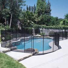 Doheny S Black Removable Pool Protection Fencing 4x10 Ft Fence Section Doheny S Pool Supplies Fast