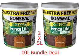 Ronseal 5l One Coat Fence Life Fence Pai Buy Online In French Guiana At Desertcart