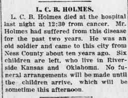 Byron HOLMES - Newspapers.com