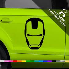 Tony Stark Car Vinyl Decal Avengers Window Or Bumper Vinyl Etsy